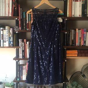 American Living Dresses - Sparkle navy blue cocktail dress